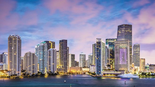 Downtown Miami, USA