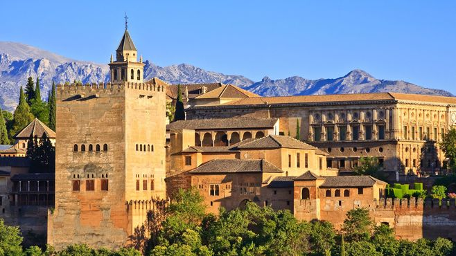Alhambra, Andalúzia