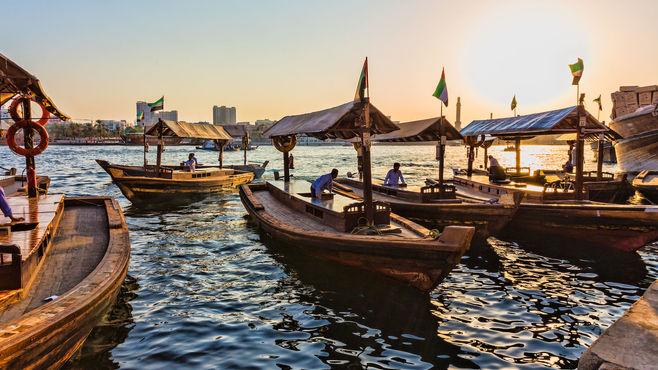 Plavba po Dubai Creeku,