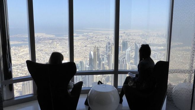 Burj Khalifa At the Top, Dubaj