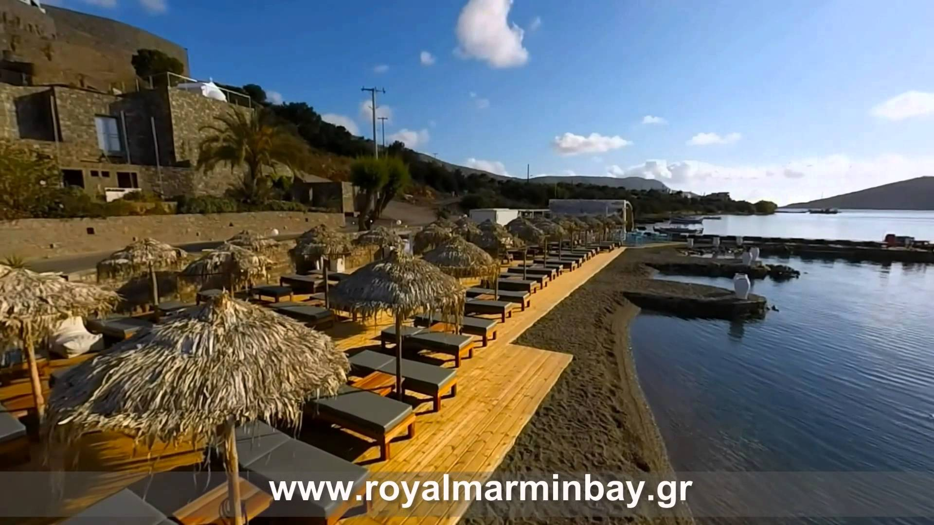 Video – Royal Marmin Bay. Boutique & Art Hotel, Elounda Crete