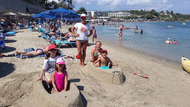 animacie satur planet fun v hoteli sentido alexandra beach na zakyntose