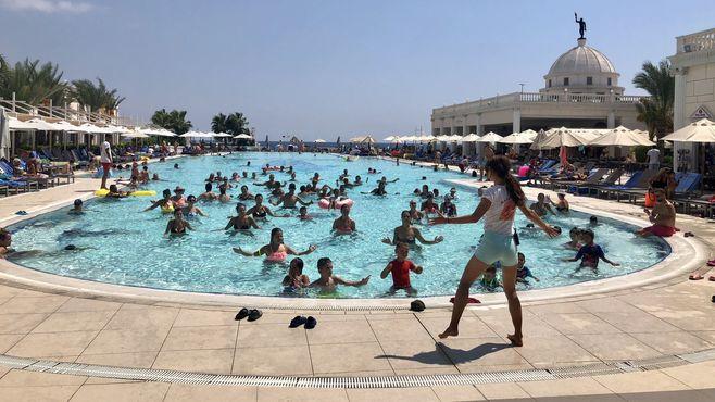 animacie satur planet fun v hoteli kaya artemis na severnom cypre