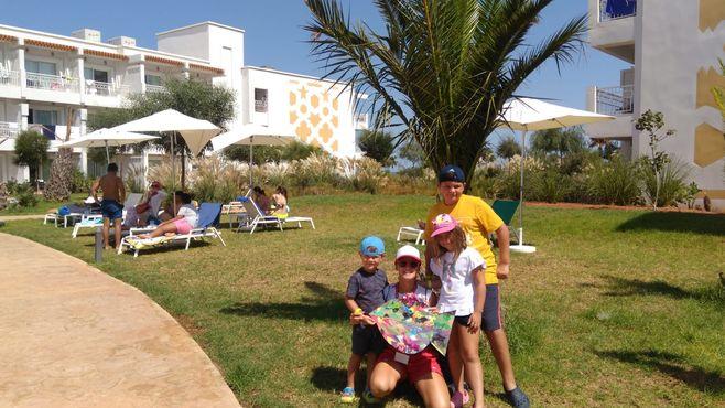 Animaciie Planet Fun a vhoteli Melia Beach v Maroku