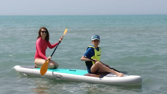 Animacie satur planet fun paddle board