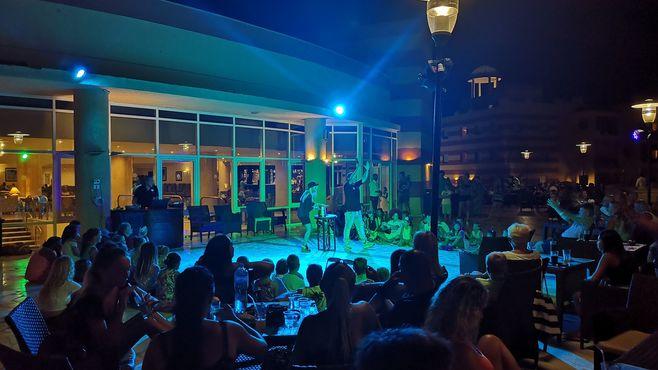 animacie satur planet fun v hoteli el malikia beach v egypte