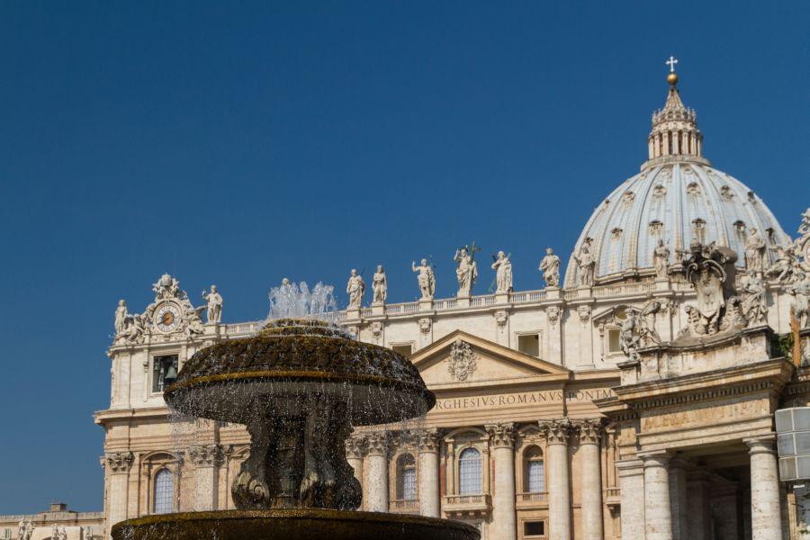 Z kupoly Baziliky sv. Petra v Ríme sa vám naskytne neopakovateľný výhľad.