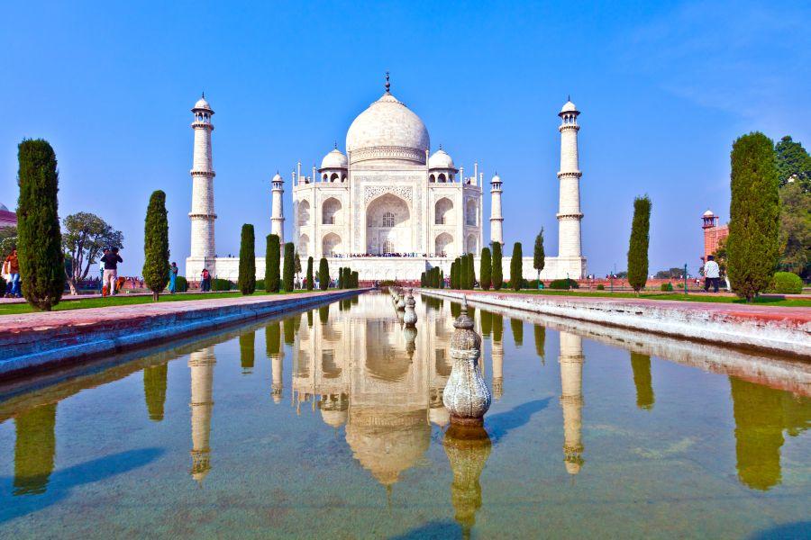 Obraz Tádž Mahálu je jedným z najznámejších vyobrazení na celom svete.