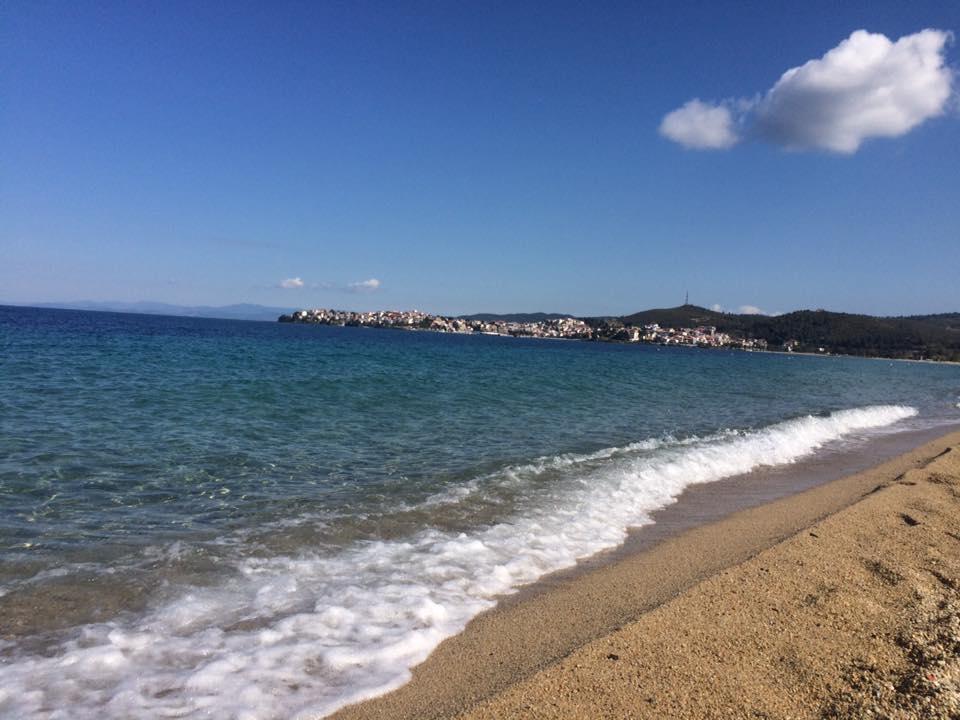 Pláže Chalkidiki sa pýšia modrými vlajkami.