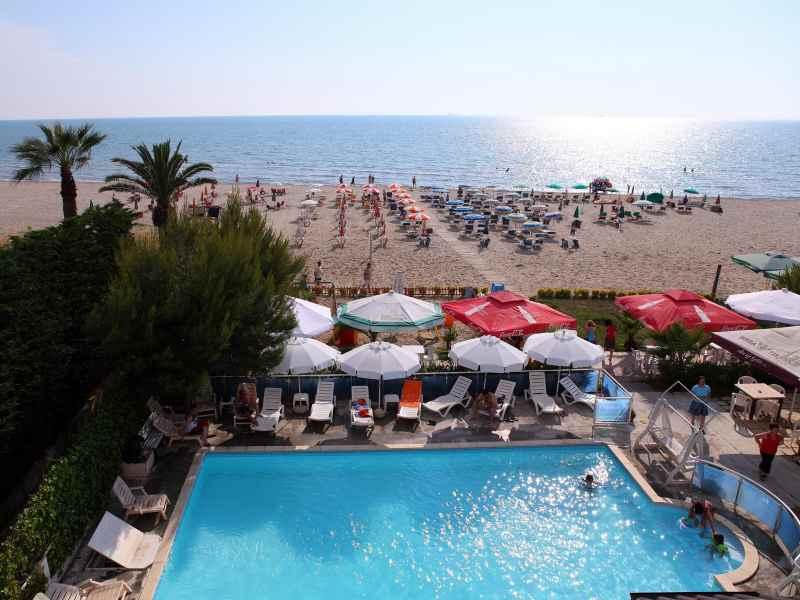 hotel oaz, letna dovolenka, dovolenka pri mori, dovolenka v albansku, albansko, satur