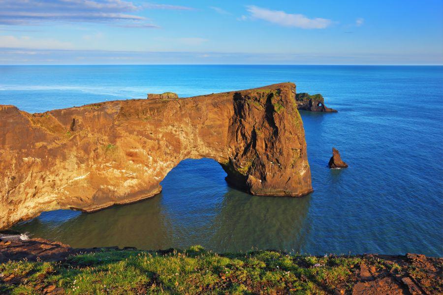 island, utesy Dýrholaey, island, poznavaci zajazd, poznavacie zajazdy, satur