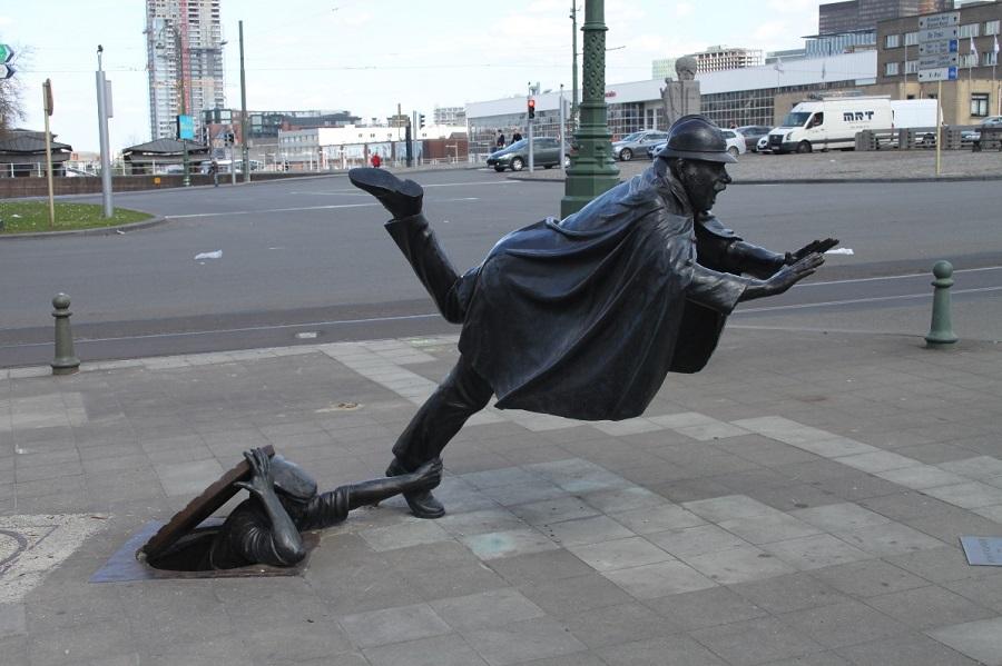 vaartkapoen, brusel, socha, poznavaci zajazd, poznavacie zajazdy