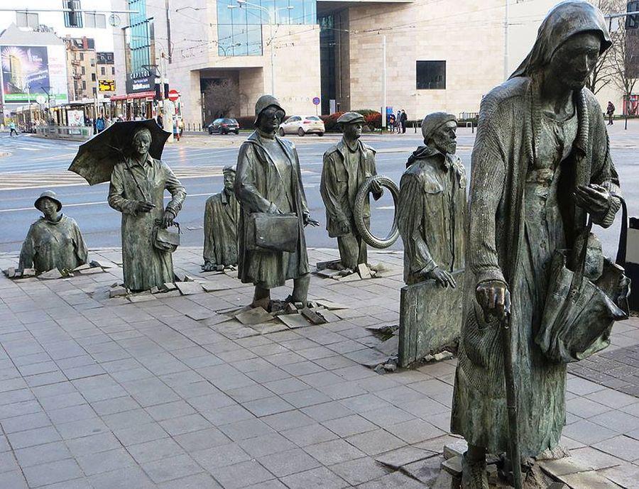 vroclav, socha, sochy, polsko, poznavaci zajazd, poznavacie zajazdy
