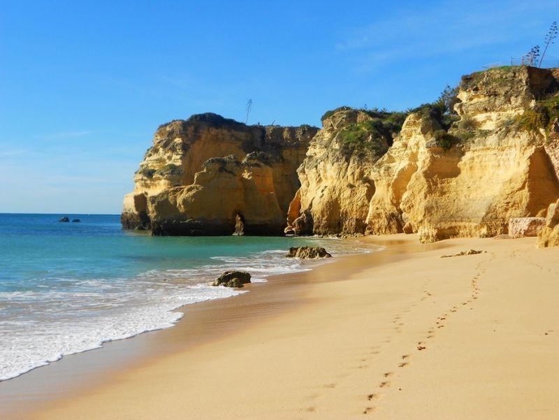 portugalsko, algarve, plaz, letna dovolenka v portugalsku, letna dovolenka pri mori, satur
