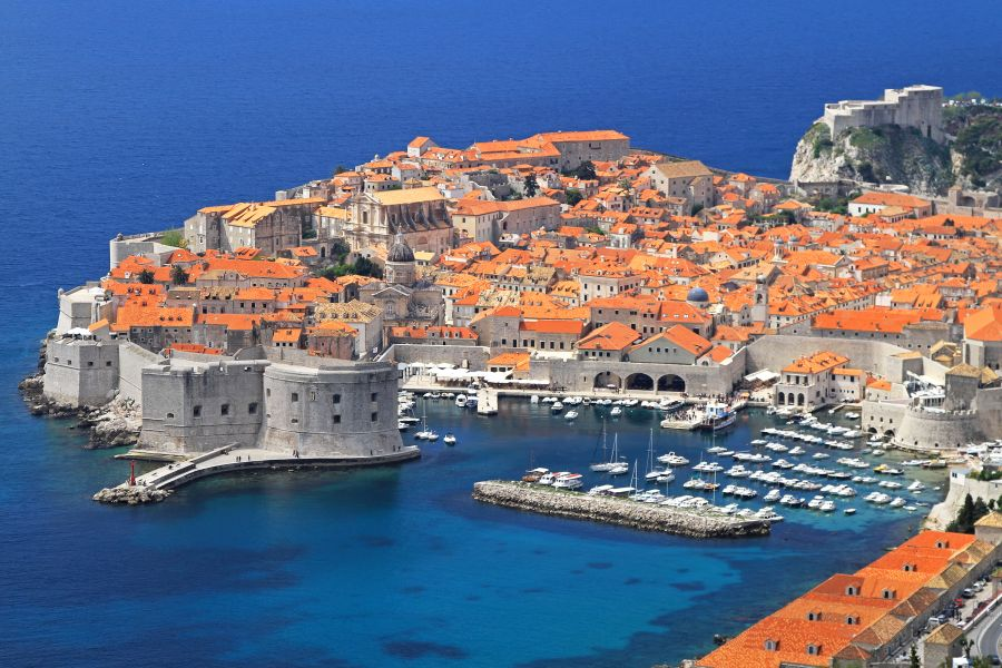 dubrovnik, chorvatsko, letna dovolenka, dovolenka v chorvatsku, satur