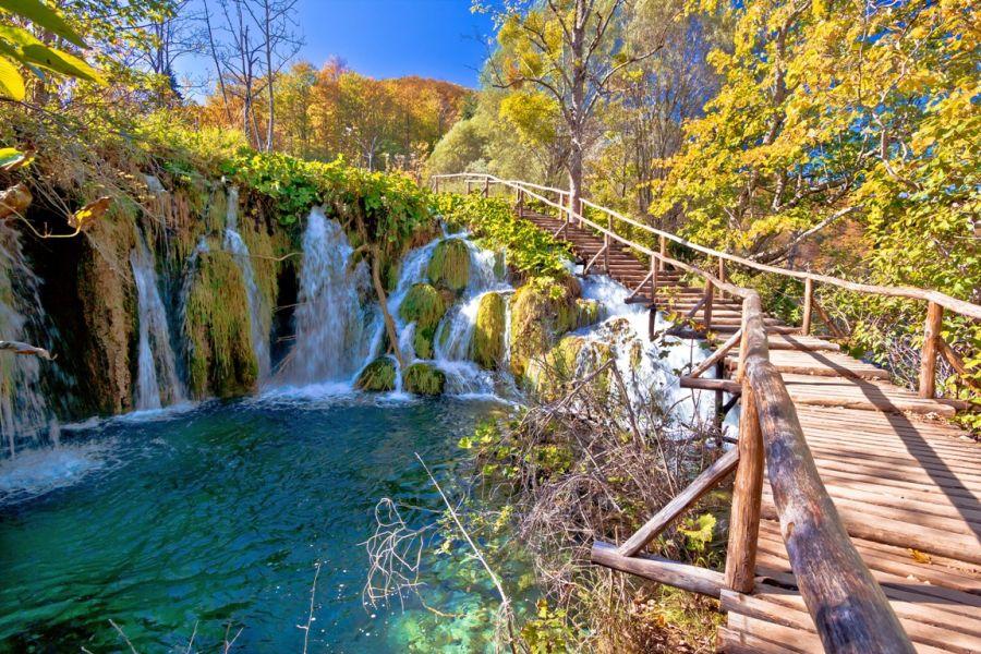 plitvice, plitvicke jazera, vinetou, chorvatsko, letna dovolenka v chorvatsku, letna dovolenka pri mori, satur