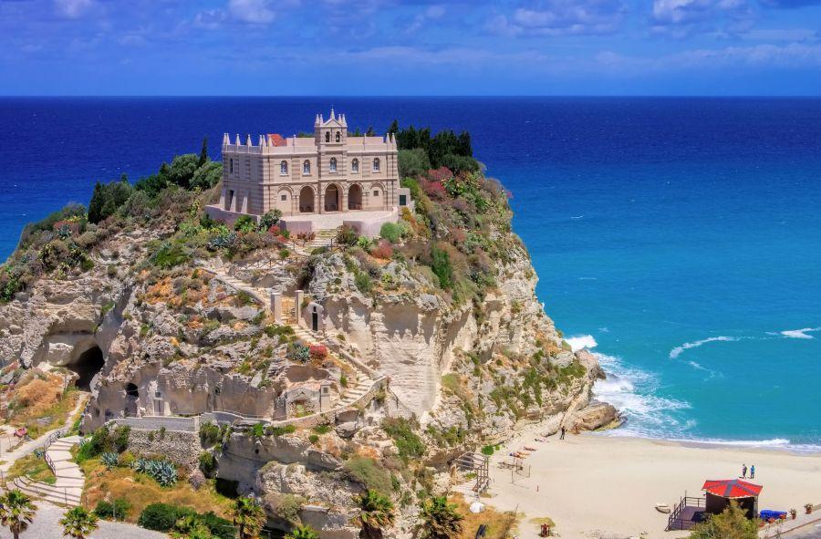 tropea, taliansko, letna dovolenka v taliansku, letna dovolenka pri mori, satur
