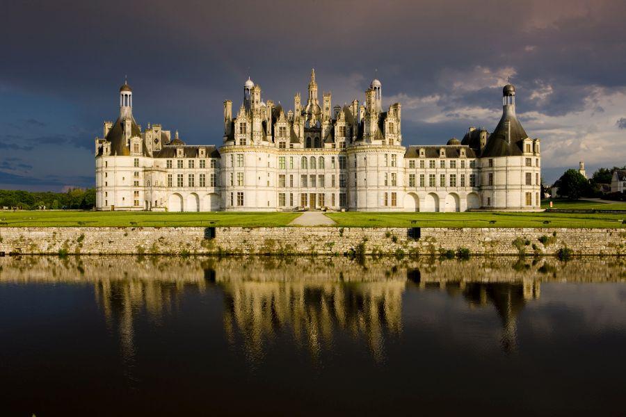 zamok chambord, hrad, poznavaci zajazd, francuzsko, zamky na loire, satur