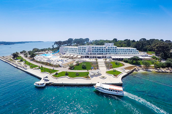 valamar isabela, hotel, chorvatsko, istria, letna dovolenka v chorvatsku, luxusna dovolenka v chorvatsku, satur