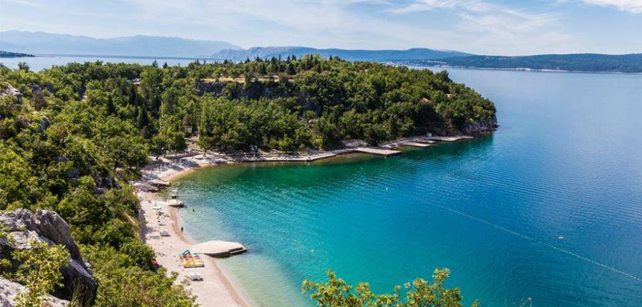 chorvatsko, zip line kacjak, adrenalin, adrenalinova atrakcia, letna dovolenka v chorvatsku, satur