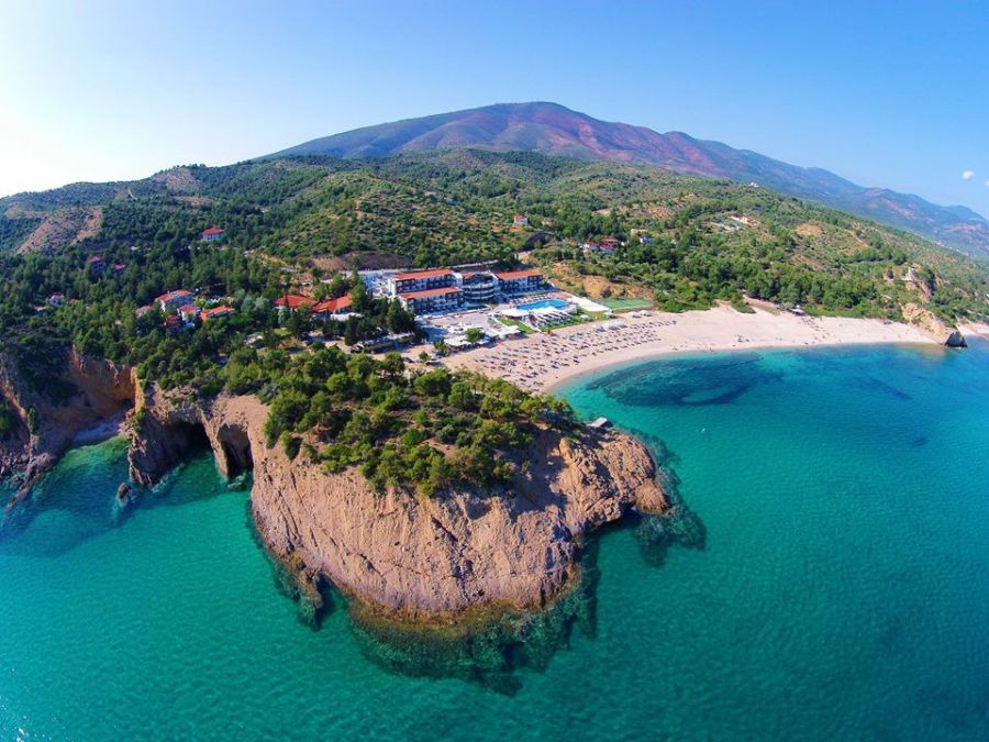 blue dream palaca, thassos, grecko, letna dovolenka, dovolenka v grecku