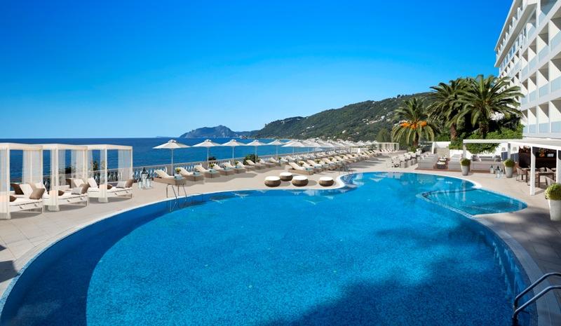 mayor la grotta verde, korfu, letna dovolenka pri mori, dovolenka v grecku, dovolenka na korfu, satur