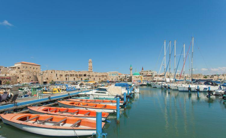 akko, izrael, pristav, stredozemne more, poznavacka, poznavaci zajazd, satur