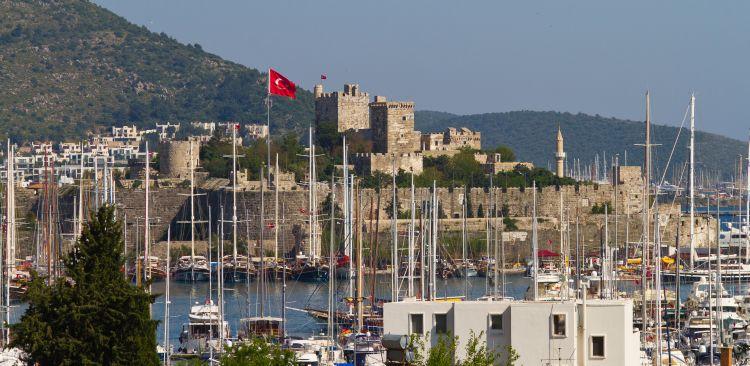 bodrum, turecko, poznavacka, poznavaci zajazd, pristav, stredozemne more, satur