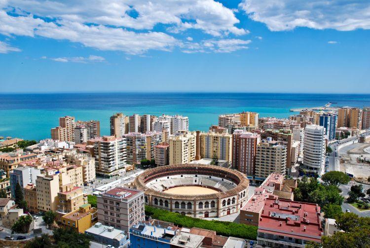 malaga, spanielsko, andaluzia, letna dovolenka pri mori, letna dovolenka v spanielsku, satur, pristav, stredozemne more