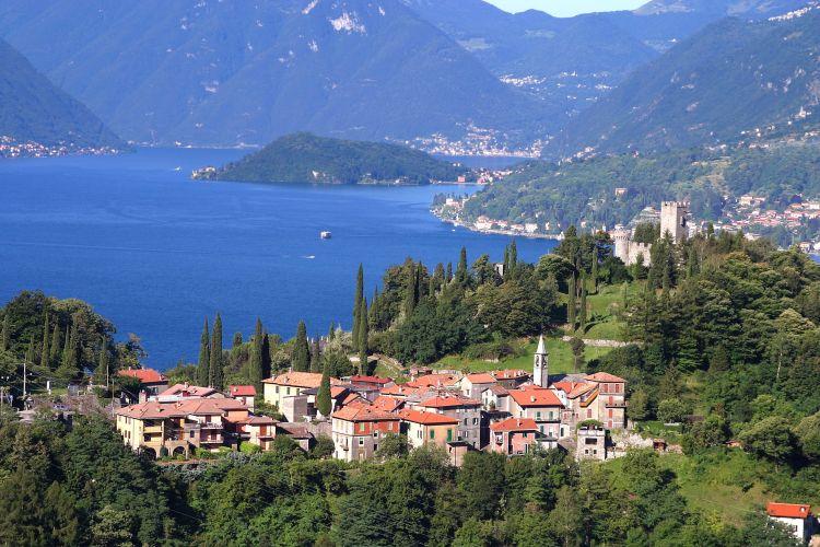 lake como, taliansko, talianske jazera, dovolenka v taliansku, dovolenka v septembri, satur
