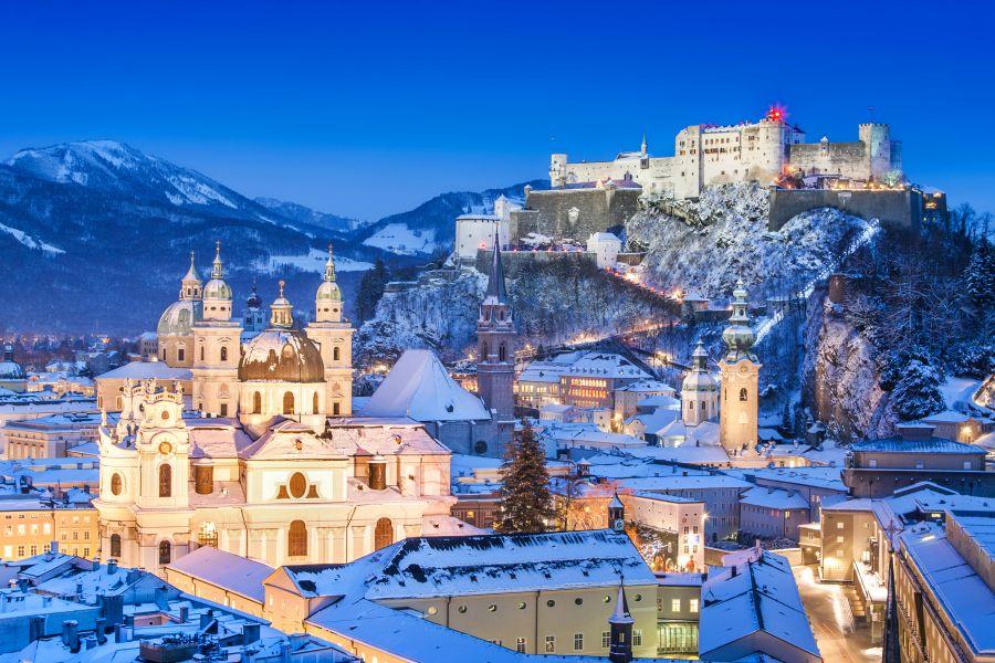salzburg, vianoce, vianocne trhy, poznavaci zajazd, adventne trhy, satur, rakusko
