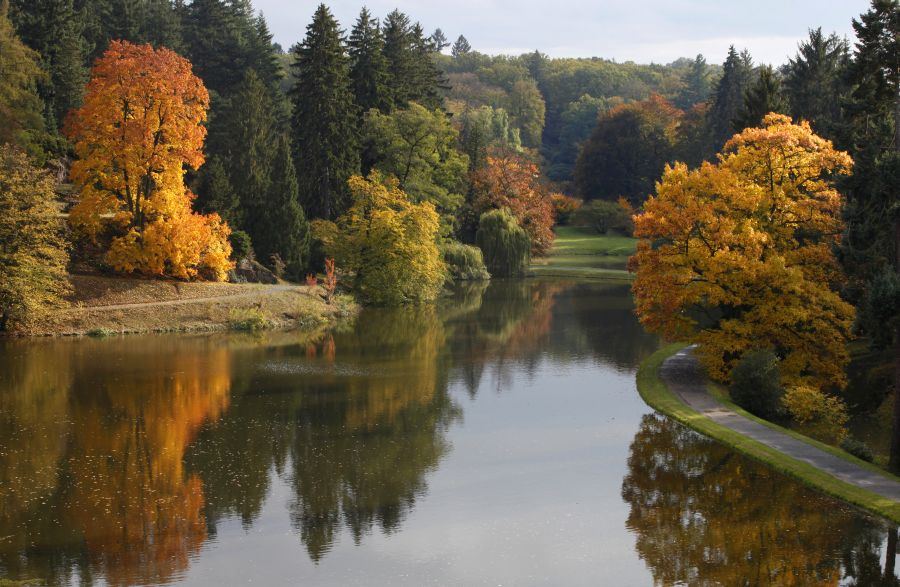 pruhonice, praha, park, jesen, poznavacie zajazdy, satur