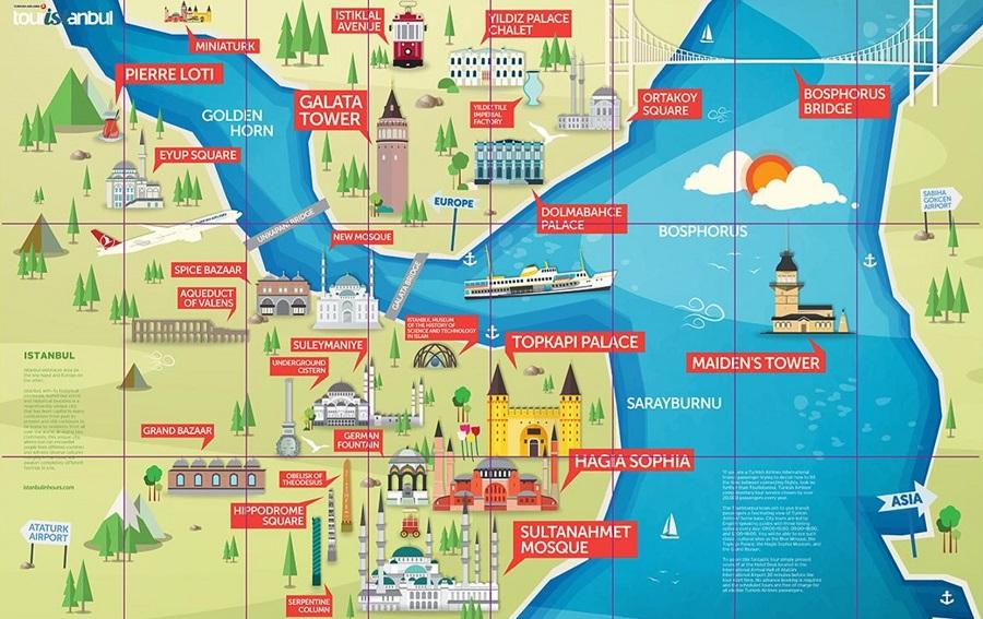 istanbul, prehliadka, turkish airlines, satur