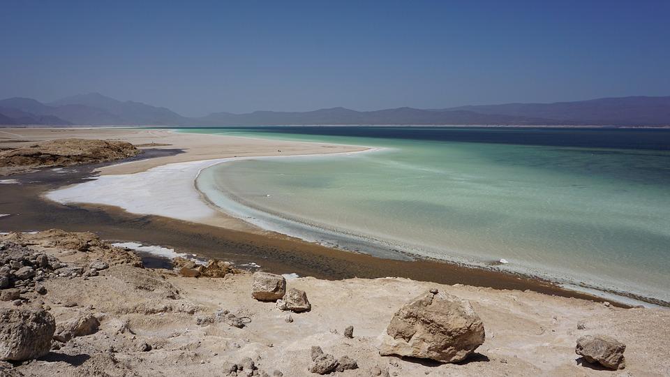 slane jazero abbe v dzibutsku