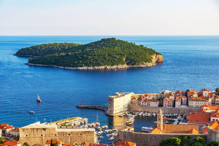 juzna dalmacia, top atrakcie, dovolenka v chorvatsku, letna dovolenka pri mori, satur, lokrum