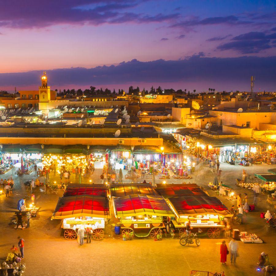 maroko, top atrakcie v maroku, dovolenka v maroku, poznavaci zajazd v maroku, satur, djema el fna