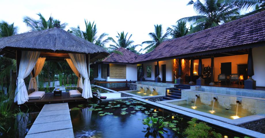 ajurvedsky hotel niraamaya v indii