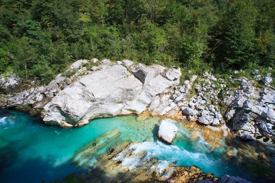 slovinsko, top atrakcie v slovinsku, dovolenka v slovinsku, poznavaci zajazd do slovinska, satur, rieka soca