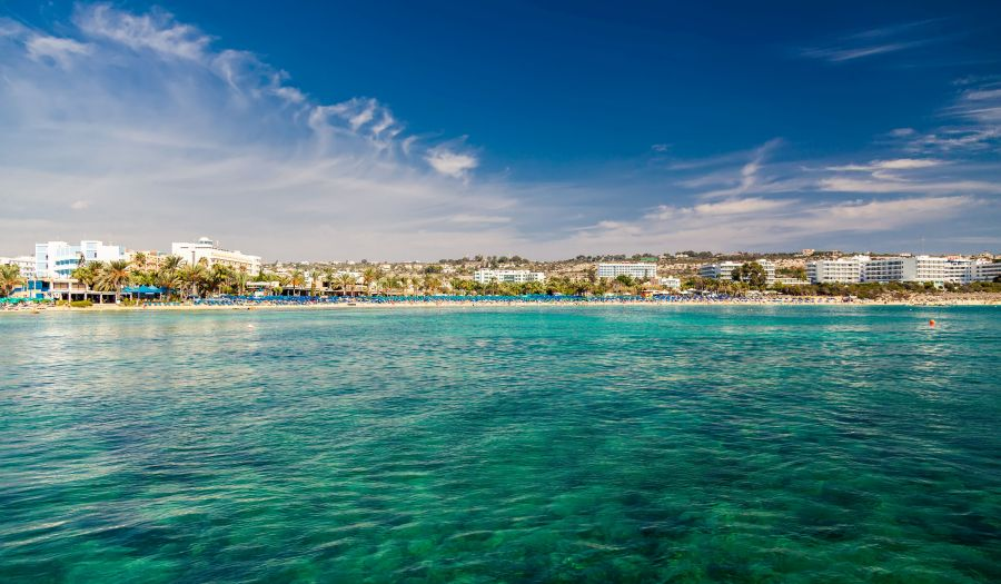 ayia napa, cyprus, letna dovolenka na cypre, letna dovolenka pri mori, satur