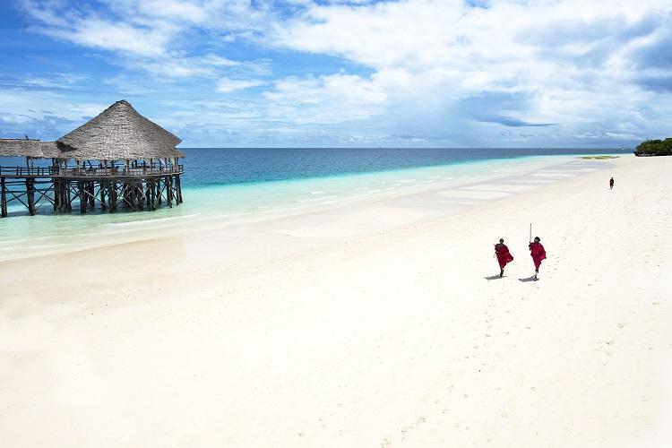 plaz na ostrove zanzibar