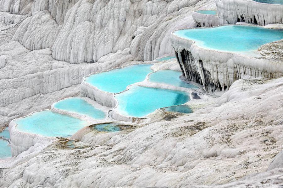 pammukale, travertinove terasy, prirodne krasy, turecko, dovolenka v turecku, letna dovolenka, ck satur