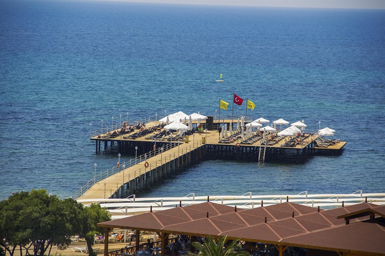 plaz, turecko, hotel arcanus, more, dovolenka turecko, ck satur