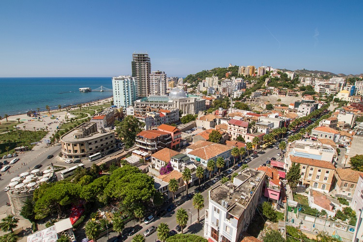 durres, albansko, hotel pre mladych, plaz, party, dovolenka, ck satur