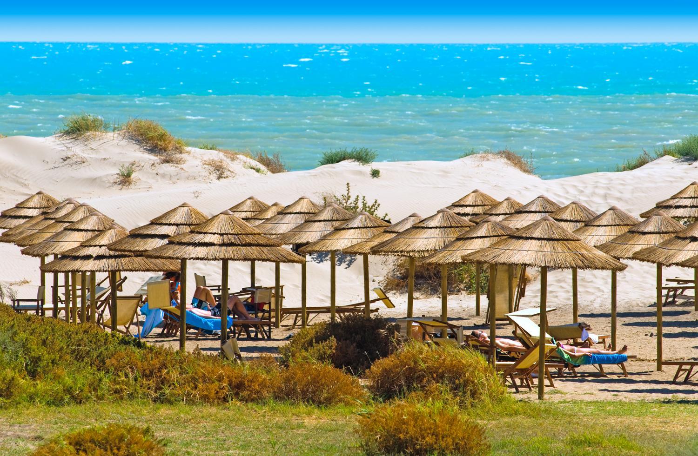 plaz pri hoteli sikania na sicilii