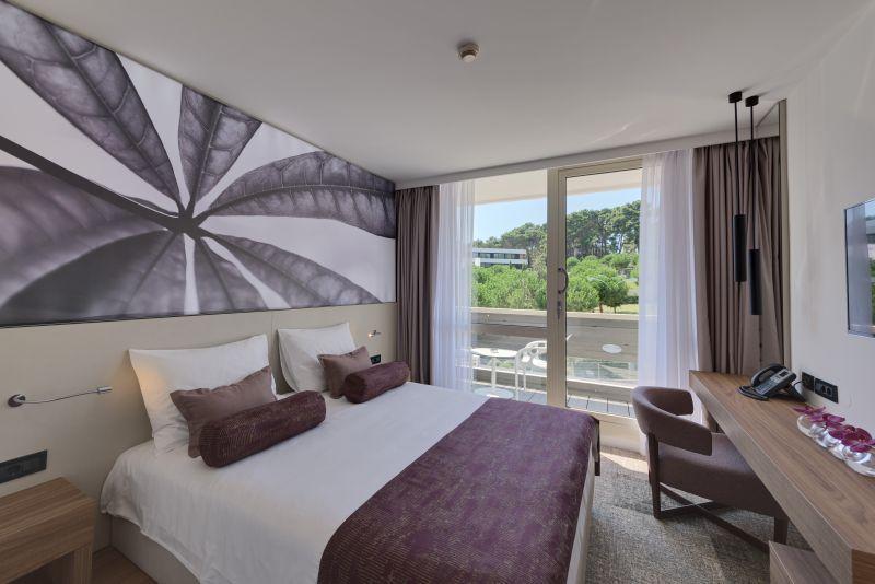 hotel eden, chorvatsko, sarm hotel, ck satur, dovolenka, izba