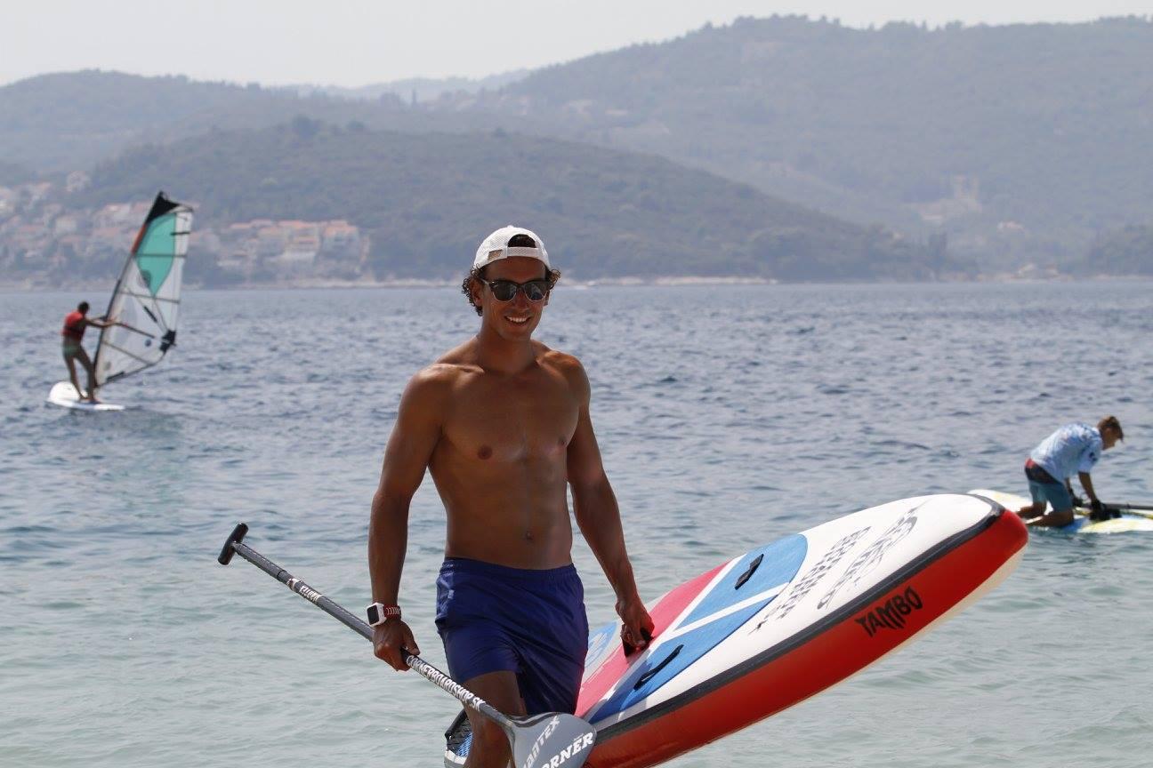 instruktor windsurfingu matej smida
