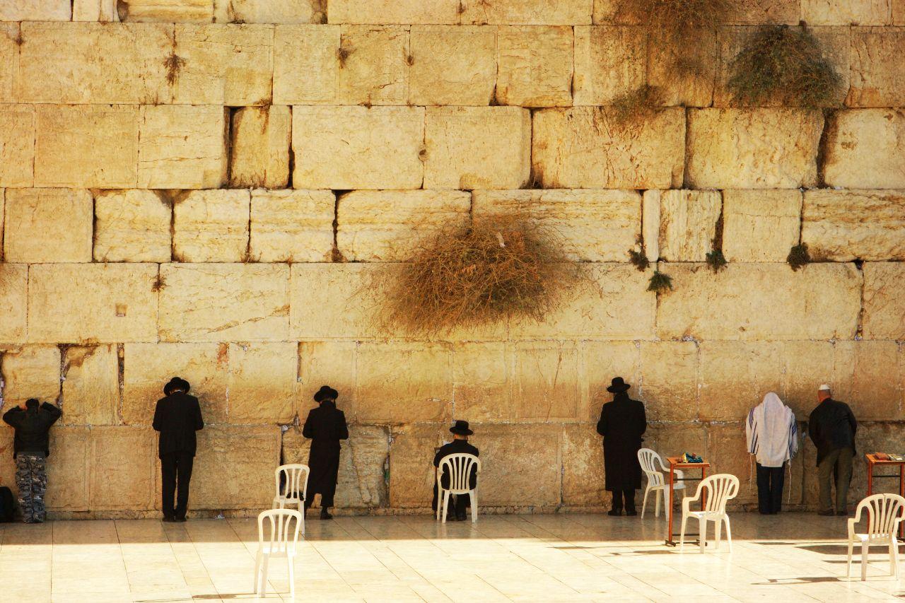 mur narekov v jeruzaleme v izraeli