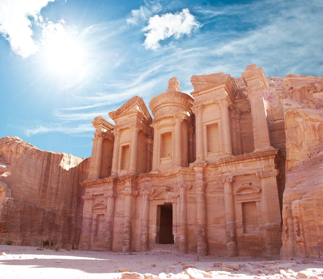 petra v jordansku