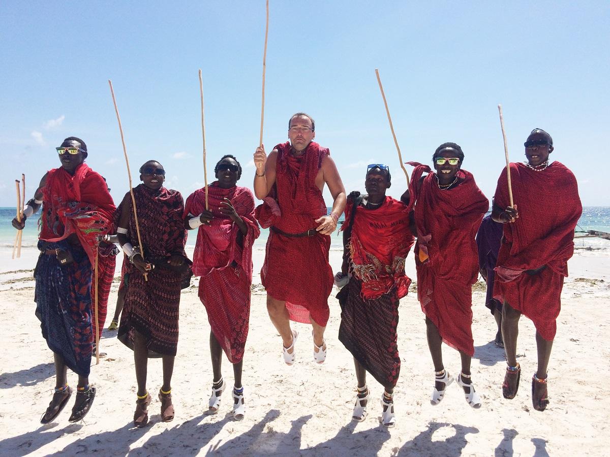 masajovia a sprievodca na zanzibare