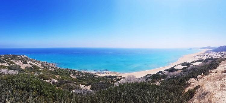 poloostrov karpaz na severnom cypre